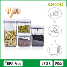 Strongly Sealing Clear Food Grade BPA Free Storage Container/ New Gifts Premiums Promotion