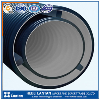 hot sale Lantan 200 mm colored hdpe corrugated pipe