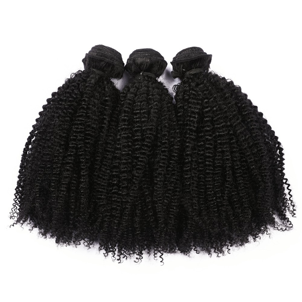 Unprocessed 100% no tangle no shedding human <strong>hair</strong> afro kinky curly 4a 4b 4c <strong>hair</strong>