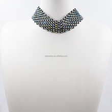 Latest Custom Plastic Bead Choker Necklace For Sale