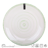 Homeware Green ceramic plates dishes