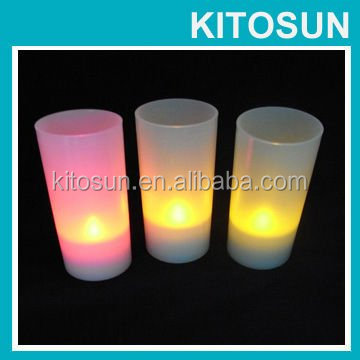 Hot Thanksgiving Day lighted flower outdoor decoration Led Votive Candles Light