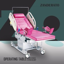 chinese supplier medical electric obstetrics gynecology examination operating room bed