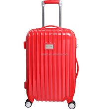 "OEM 20"" 24"" 28"" ergonomic handle and ABS trolley luggage bag new model"