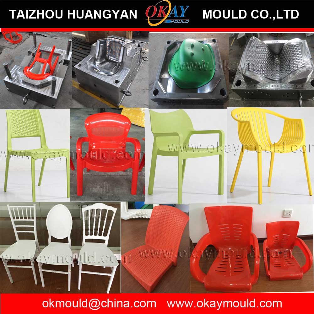 High quality chair mould , with sandblast surface , Auto drop