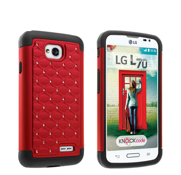Cell phone case for lg l70,hybrid mobile phone accessories for l70
