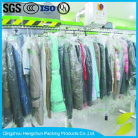 High quanlity ldpe plastic dry cleaning bags