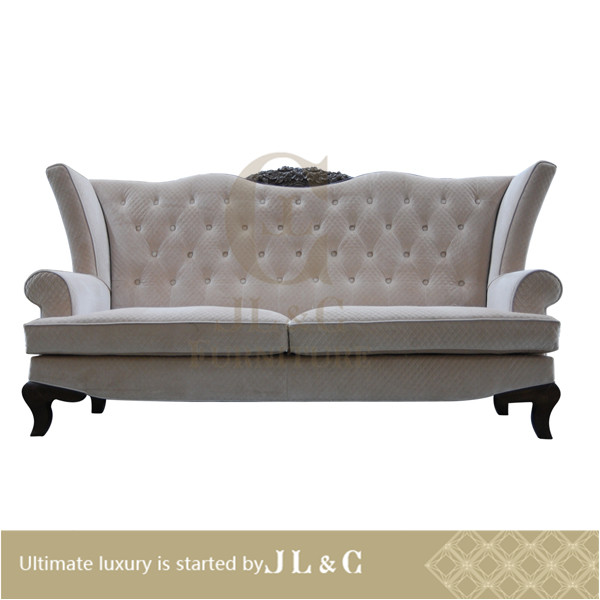 Luxury living room 2016 New design , two-seat sofas leather italian designe, AS06-22 from china supplier-JL&C Furniture
