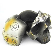 High Quality Wholesale Polyresin Skull Ashtray