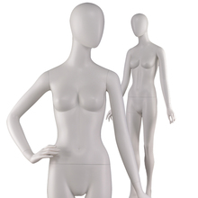 Cheap store clothes display fashion modern model manikin abstract egg head full body mannequins female for sale