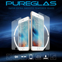Latest free sample full cover 0.33mm 9H ultra clear Tempered Screen For iPhone 6 6S