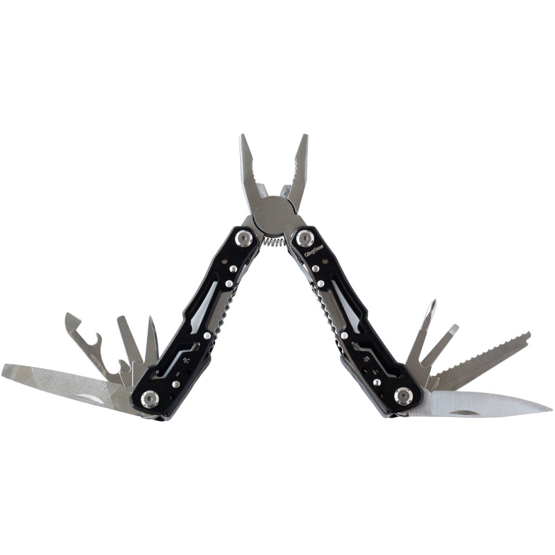 14 in 1 Multi Purpose Pocket Tool Pliers Knife Wire Cutter Screw Driver Nail File Opener Saw Remover Survival Outdoor Camping