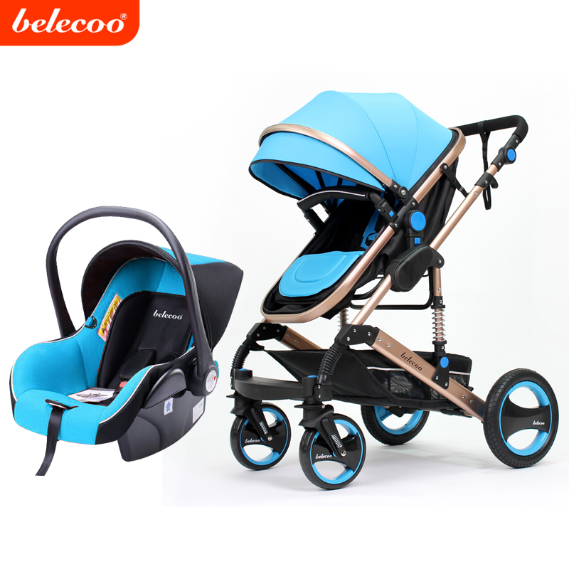 Foldable and Easy-taking Belecoo/Cynebaby 535-Q3 model baby pram/stroller 2 in 1