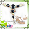 2014 Strass Shoe Accessories Lady Shoe