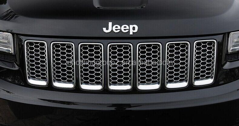 Car Chrome Front Grille for Jeep Grand Cherokee SRT8