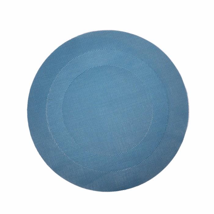 Factory sale OEM quality texlin fabric round placemats and coasters
