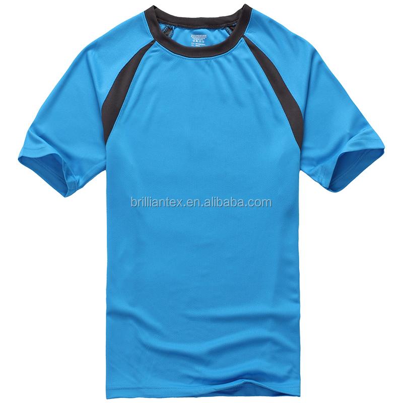 Men 39 s dry fit plain white t shirt custom sports tshirts for Dry fit custom t shirts