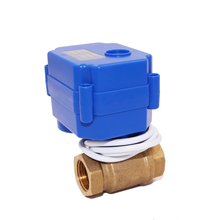 Competitive Price general agriculture DC12v electric water shut off valve