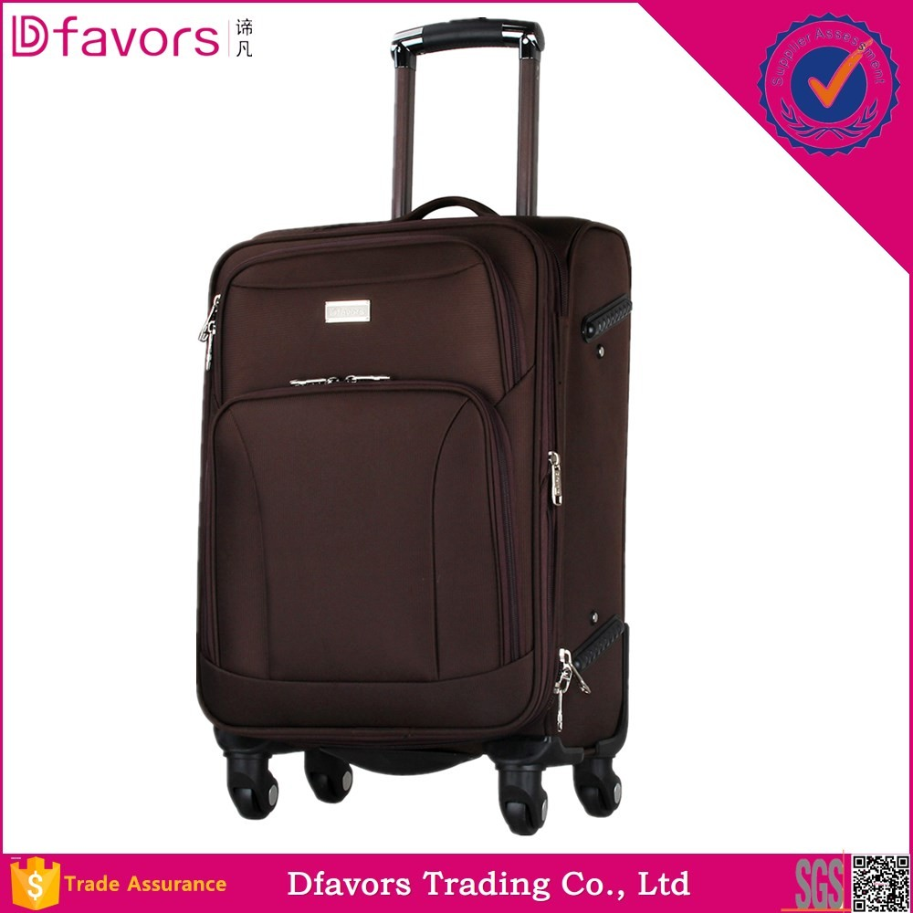 Hot selling eminent soft 20 24 28 32 inch trolley luggage amber it adjustable rubber band multiple colors