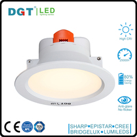 Dimmable 5W/8W/10W Cutout 60mm/80mm/100mm led ceiling lighting downlight