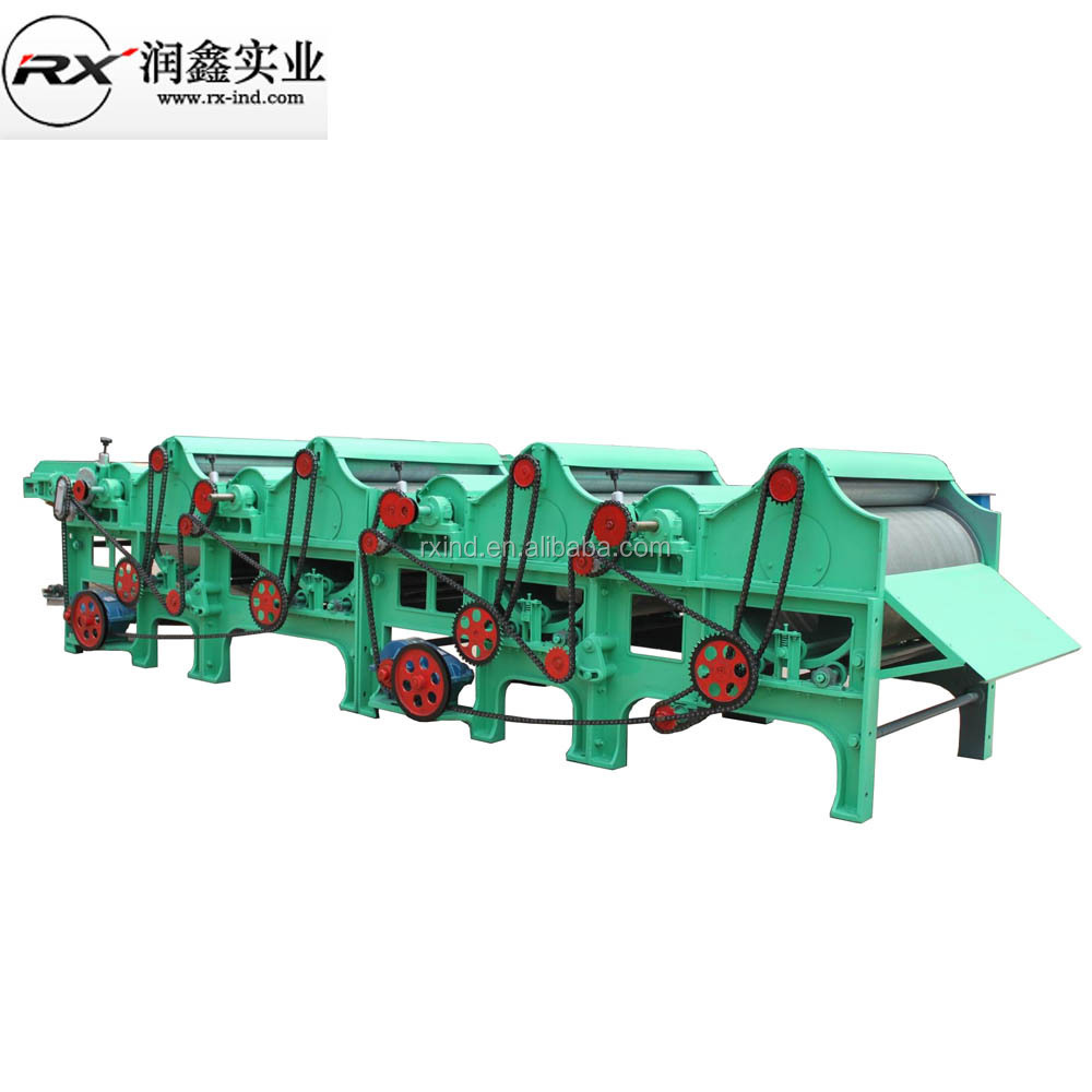 fabric cloth waste recycling machine