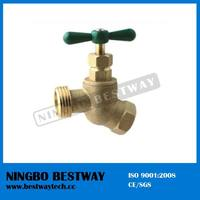 T-handle no kink brass hose bib cock for USA market