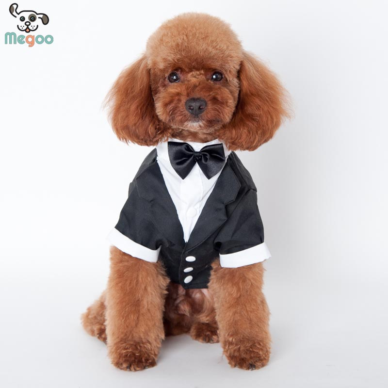 European And American Style Boy Dog Formal Suits For Weeding Party