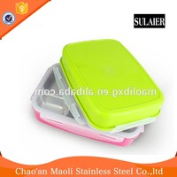On Sale Fda Standard Silicone Cheap Lunch Boxes