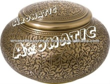 Brass decorative Antique Cremation Urn