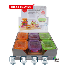 24pcs rectangle food container set
