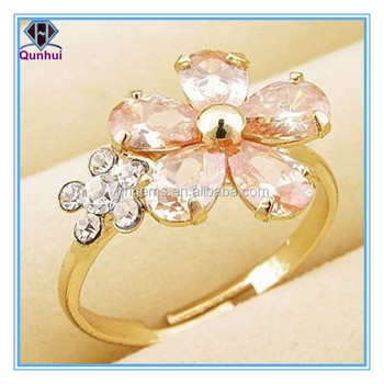 Charming any color elegant pear or oval and marquise shaped cz ring