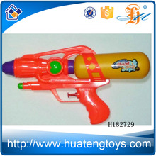 H182729 Promotional children toy heart-shaped orange yellow bottle middle syringe water gun