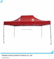 3x4.5 Aluminum Garden Pop/Easy Up Fold Gazebo Canopy Tent Waterproof M2