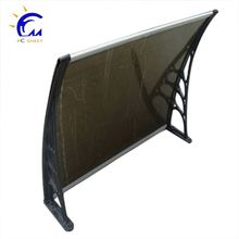 Aluminum polycarbonate window awning door canopy