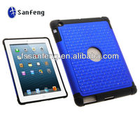 Solid Snap On Silicone Skin Case for ipad 2 3 4 with Hard Plastic Shell,for ipad 2 3 4 Shock Proof Case