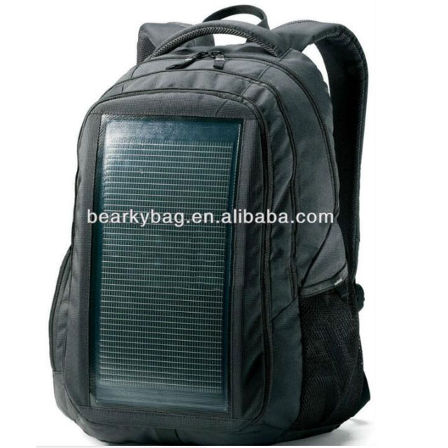 2017 new arrival solar energy backpack guangzhou backpacks manufacturer