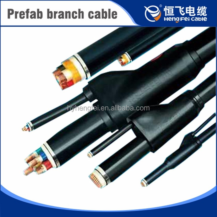 Popular fire-resistant 90mm2 XLPE insulated prefab branch cable
