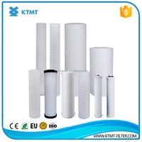 high quality pp water filter melt blown/sediment/pleated filter cartridge price list from china supplier