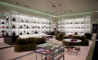 High End Custom Make Glass Shoe Display Cabinet