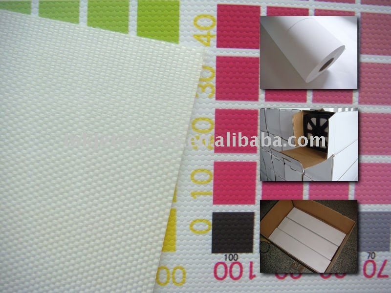 water resistant 600D polyester inkjet canvas with bright white coating