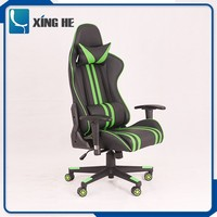 Pu material new coming design fancy racing office chair seat