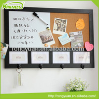 New custom china memo board with whiteboard,cork and photo frames