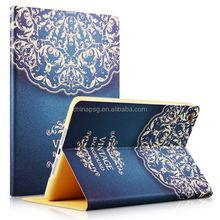 Folding Stand Case Cover For iPad mini 1 2 3, Beautiful Pattern 360 Protective PU Leather cover for ipad mini123