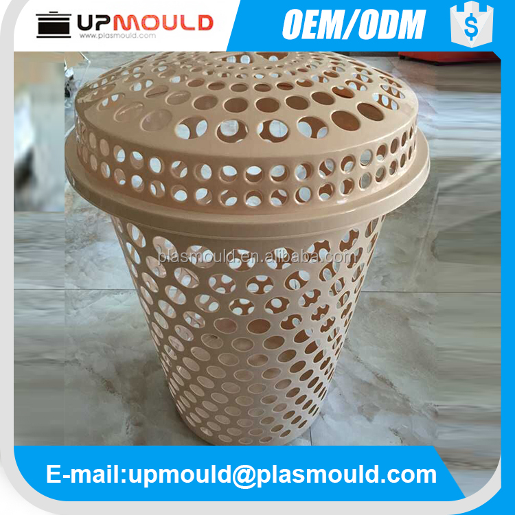 professional injection plastic mold laundry basket injection mouldings