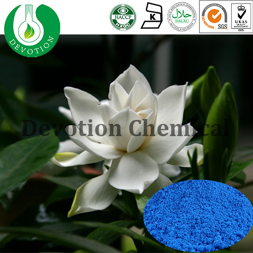 Gardenia Blue Color Natural Color Edible Color