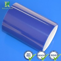 Manufacture Professional Plastic 83micron LDPE Blue Protective Film