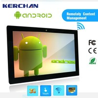 21 inch tablet, led android signage tablet pc without camera
