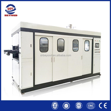 Full automatic plastic disposable food container making machine