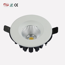 Aluminum lamp body 5w 7w cut out 60mm COB LED Recessed Downlight