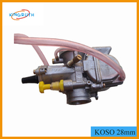 2016 China koso 28mm motorcycle carburator With Power Jet for Motorcycle ATVs